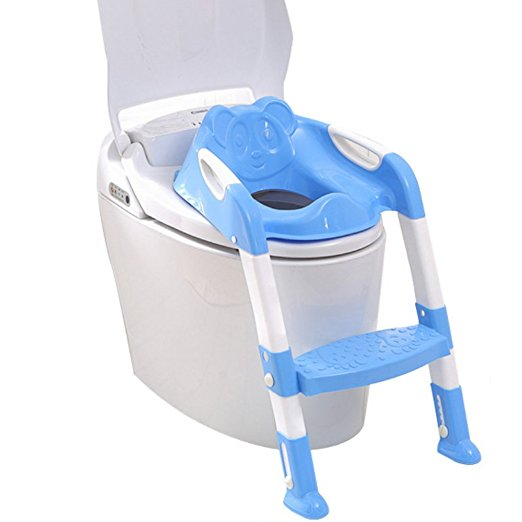 GrowRight Safe and Secure, Adjustable Toilet Potty Step Trainer