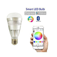 MWGEARS 10w Bluetooth Smart LED Light Bulb - Smartphone Controlled