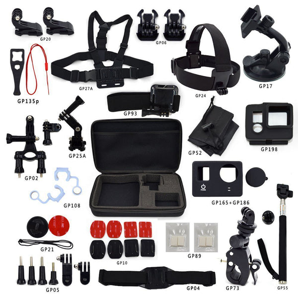 Active Authority GoPro Sports Accessories Kit for GoPro Hero 3/4/5+