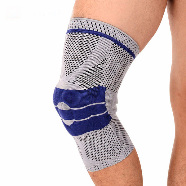 Active Authority Spandex Knee Recovery Sleeve w/ Silicone Patella Support