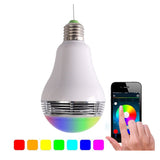 MWGEARS A108-LED 6w LED Bluetooth Smart LED Light Bulb w/ 3w Speaker