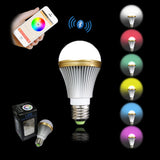 MWGEARS LS001 5 Watt Bluetooth Smart Multi-Color LED Light Bulb - Smartphone Controlled