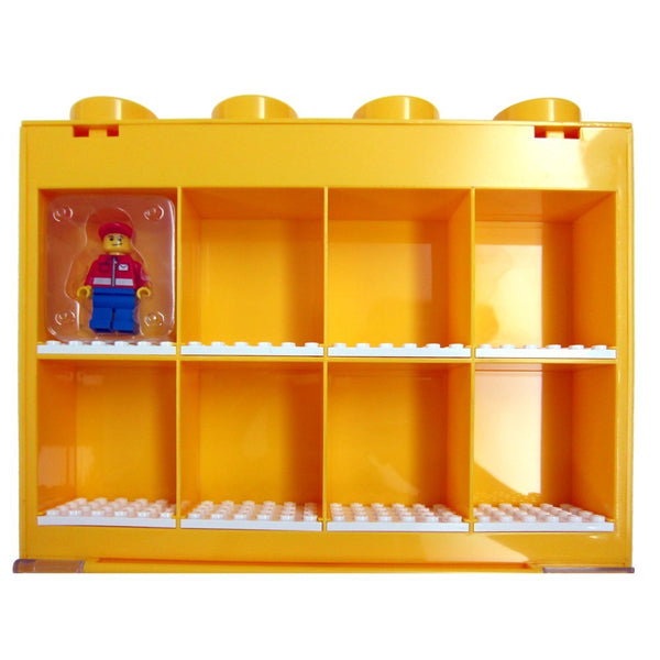 MWGears Acrylic Display Case / Box Show Case for Lego Minifigure (8-body storage)