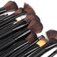 Urban Escape 43-Piece Professional Cosmetic Makeup Brushes Kit with Travel Pouch *Clearance Sale*