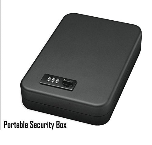 MWGears Portable Jewelry and Cash Safe with Programmable Security Code Lock