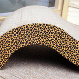 Paw Essentials MJ032 Fun Shaped Cardboard Cat Scratcher with Catnip
