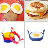 Cook@Home Silicone Egg Ring Pancake Mold  4-PACK