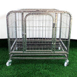 Paw Essentials 24in Heavy Duty Dog Cage / Pet Cage Crate Kennel w/ One Door and One Window