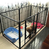 Paw Essentials 6 Panel Portable Pet Exercise Play Pen With