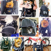 Paw Essentials Oxford Dog Cat Pet Carrier Travel Backpack