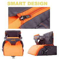 GrowRight Portable Multi-functional Baby Travel Booster Seat / Backpack Diaper Bag