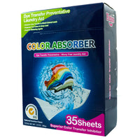 Finice Color Absorber Laundry Detergent Sheets (35-Sheets)