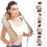 Active Authority Neck and Back Deep Kneading Massager with Heat Therapy
