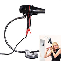 Urban Escape Rolling Hands Free Hair Dryer Holder, Adjustable Stand with Easy Instant Mount