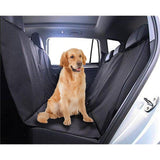 Paw Essentials Black Pet Car Seat Cover Protector - Hammock Style, WaterProof, Adjustable