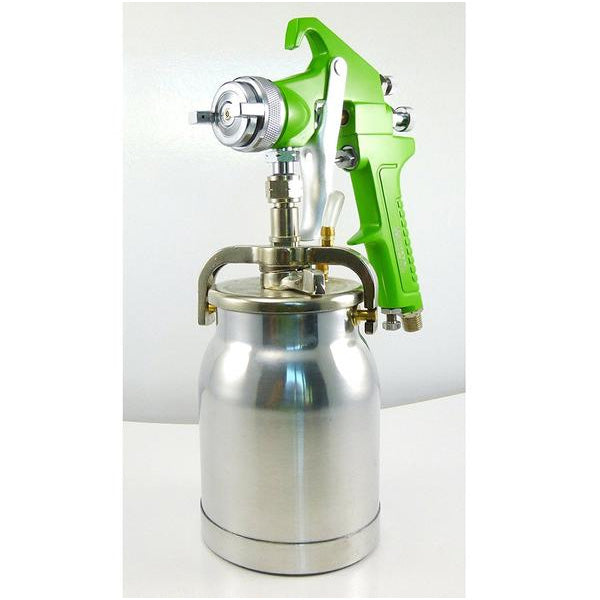 Dynamic Power Siphon Feed Spray Gun 1000cc, Spary Pattern 1.1 in. to 11.5 in.
