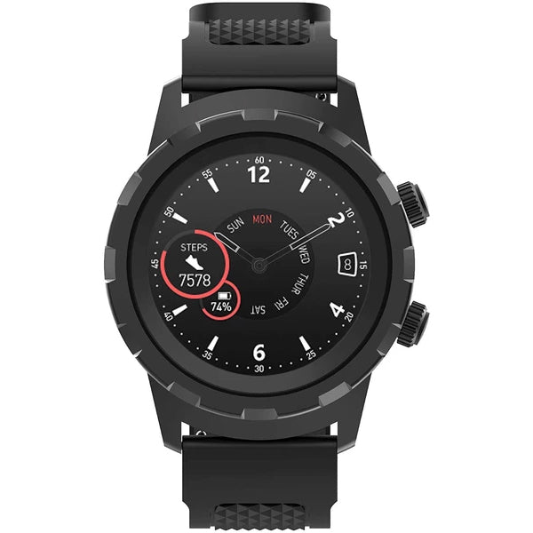 3plus 3PL-HYBRID-BK 3plusr Cruz Hybrid Watch for Android