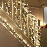 MWGEARS Decorative 400 LED String Lights Warm White Little Bulbs Indoor/Outdoor
