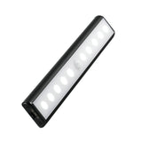 MWGEARS 10 LED Super Bright Wireless Motion Sensor LED Light Bar, Rechargeable