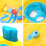 GrowRight Inflatable Mother and Baby Pool Float Swimming Ring Swim Toy