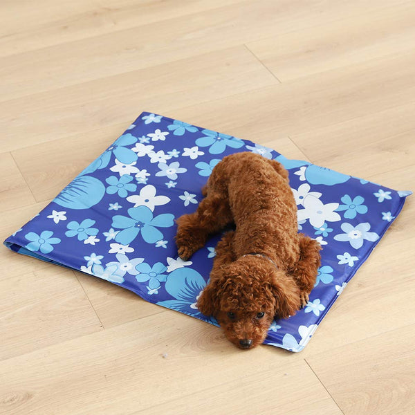 Paw Essentials Pet Cooling Mat with Pressure-Activated Cooling Gel for Dogs and Cats