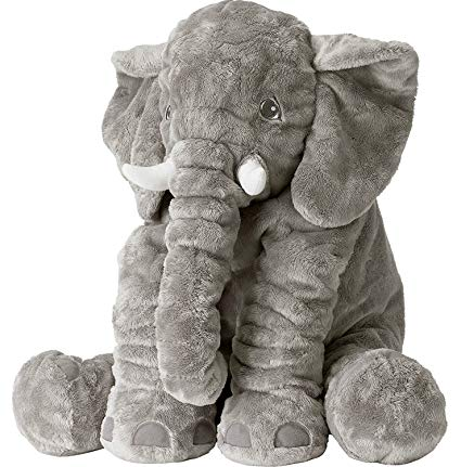 GrowRight Super Soft Stuffed 24 Inch Floppy Elephant Plush Toy Animal