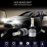PLW P6 Auto LED Headlight System, H7 5600K IP68 Spec w/High Efficiency Heat Control