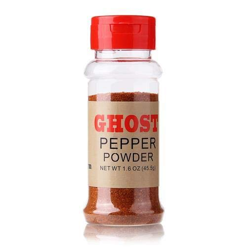 Uncle Jay's Farm Ghost Pepper, Bhut Jolokia, Whole Ghost Pepper Pods, Powder