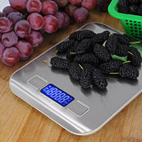 Amanda Home Digital Stainless Steel Kitchen Food Scale