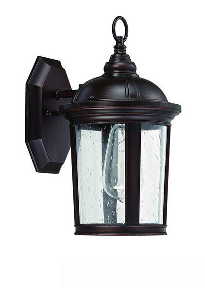 Mega Lighting Industrial Hanging Lantern Outdoor Pendant Porch and Patio Lighting