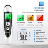 SOVARCATE Medical Forehead and Ear Thermometer for Fever with Fever Alarm and Memory Function Instant Accurate Reading for Baby Kids Adults