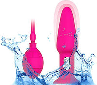 Anastasia Steel Inflatable Multi-Speed G-Spot Vibrator - Pink