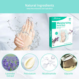 Mix Beauty Lavender Moisturizing Hand Masks 4- Pack