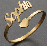 Personalized Ring with Up to 4 Names