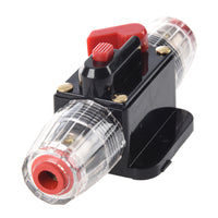 MWGears FN-048 60A/80A DC 12V-24V Car Protection Audio Inline Circuit Breaker Fuse