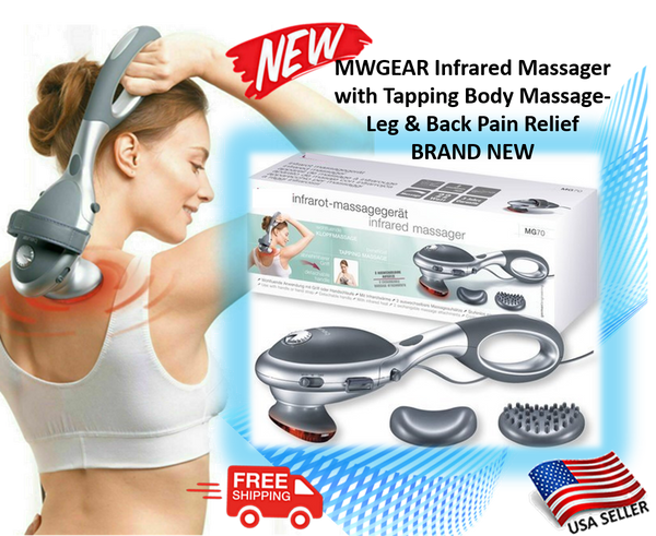 MWGEAR Infrared Massager with Tapping Body Massage-Leg & Back Pain Relief BRAND NEW