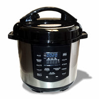 Chef-USA Electric Pressure Cooker with Stainless Steel Pot, 13-Program Slow Cooker, 8 quart