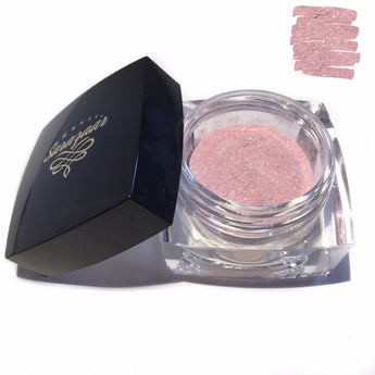 24K Gold Loose Highlighter Powder- Frosty Pink - Sarazaar
