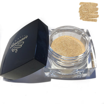 24K Gold Loose Highlighter Powder. Goldrush - Sarazaar