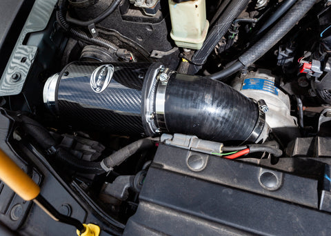 Supercharged JK/JL/JT 3.6L Jeep Carbon Fiber Sealed Air Box System