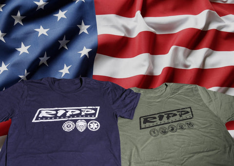 RIPP Patriot Tees