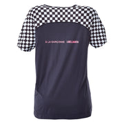 PLAYERA NEGRA ESTAMPADA