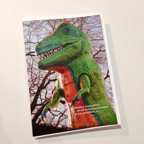 Dino notecards - set of 12