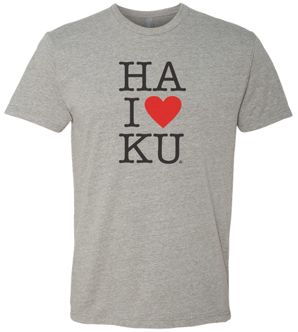 """Heart Haiku"" t-shirt (men's)"