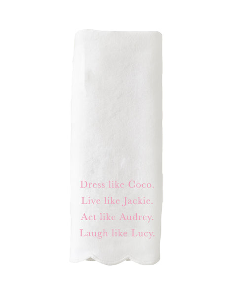Dress Like Coco Guest Towel