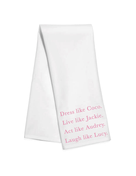 Dress Like Coco Kitchen Towel