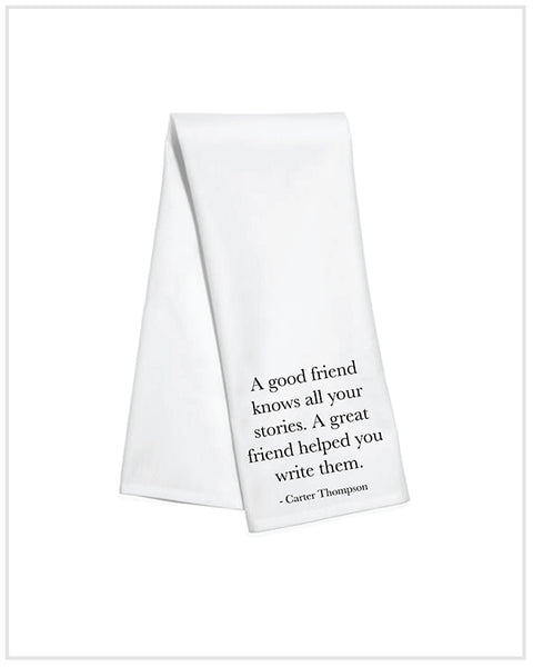 Friend Stories Kitchen Towel