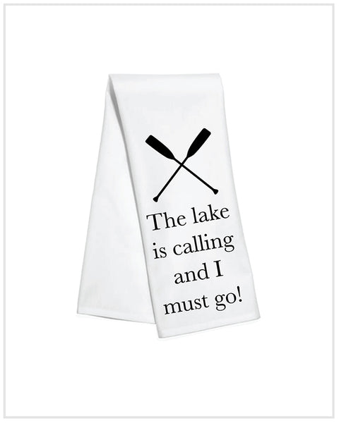 Lake Calling Kitchen Towel