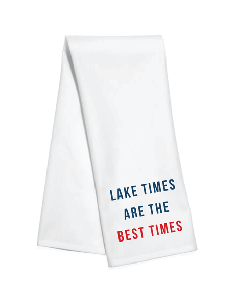 Lake Times Kitchen Towel