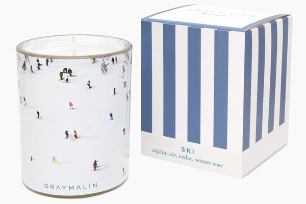 Ski Candle-Gray Malin